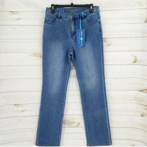 New Soft Surroundings Triple Jeans Stretch Slim